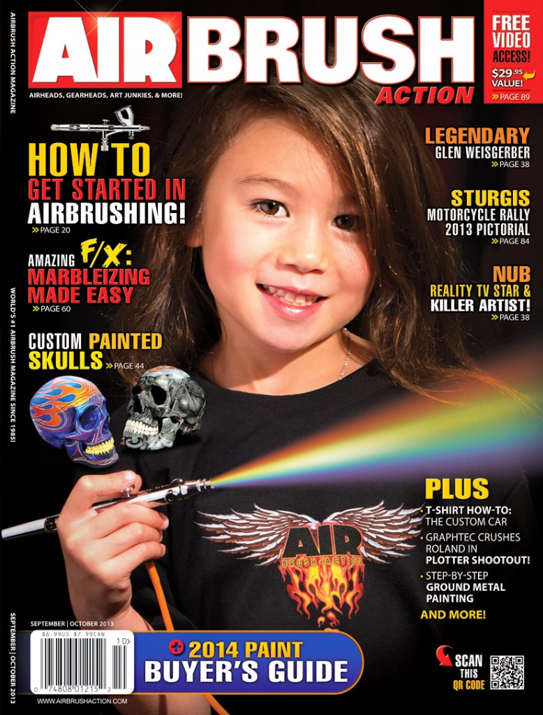 2013 Sept-Oct Cover Airbrush Action Magazine