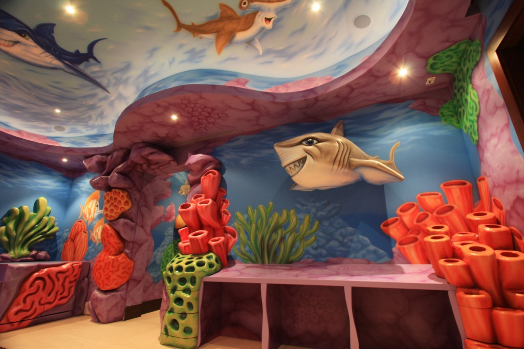 Jason Hulfish, master airbrush artist and fabricator, has done the homes of many high-profile athletes and celebrities.