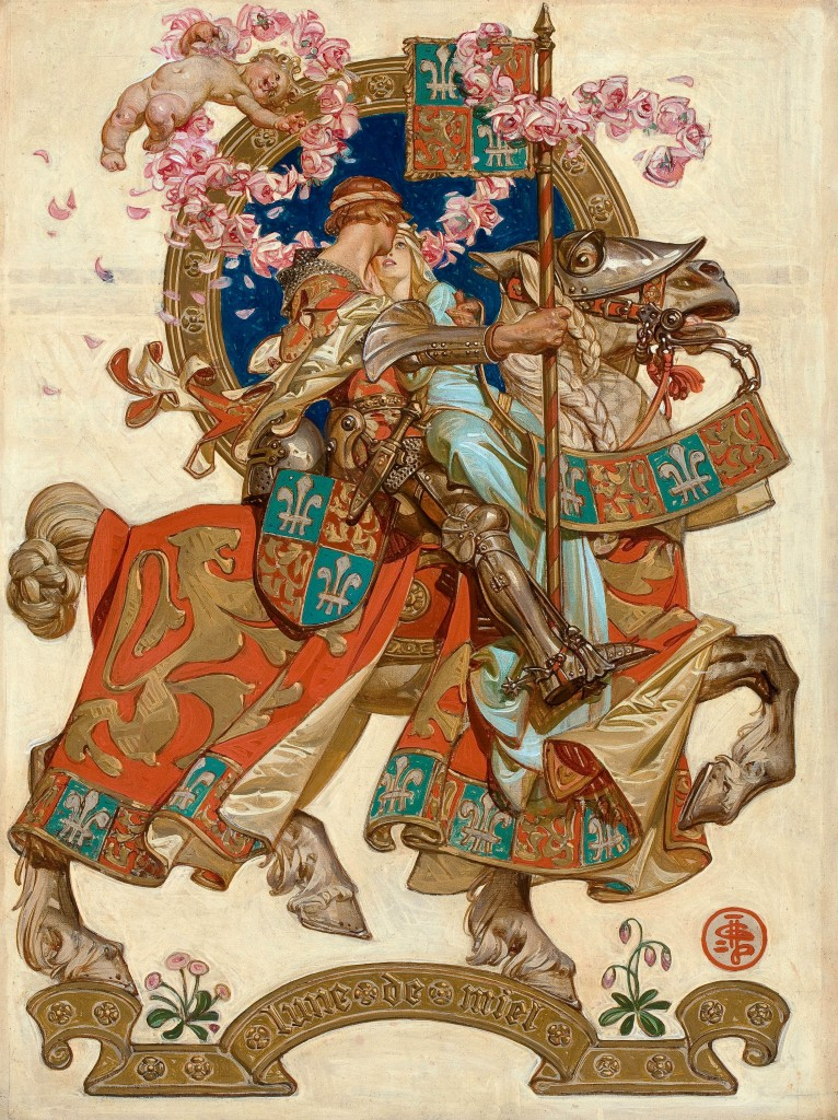 Lune De Miel (Honeymoon) by J.C. Leyendecker