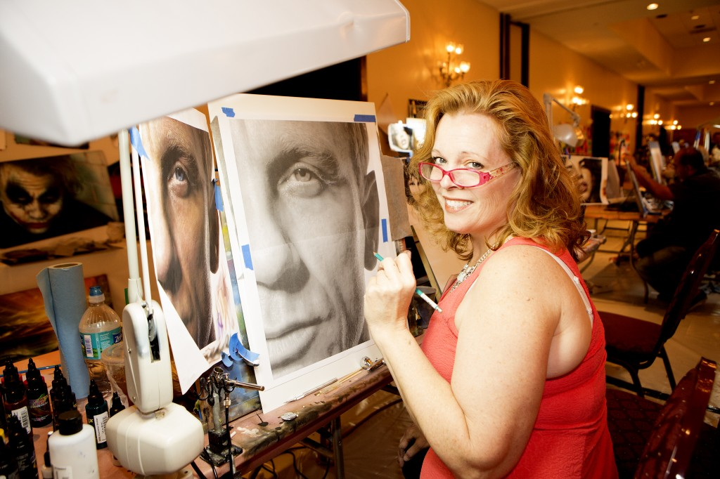 The Las Vegas Airbrush Getaway, Oct 6-10 at the NEW Tropicana Hotel, offers 21 all hands-on airbrush courses for beginning to advanced artists or enthusiasts.