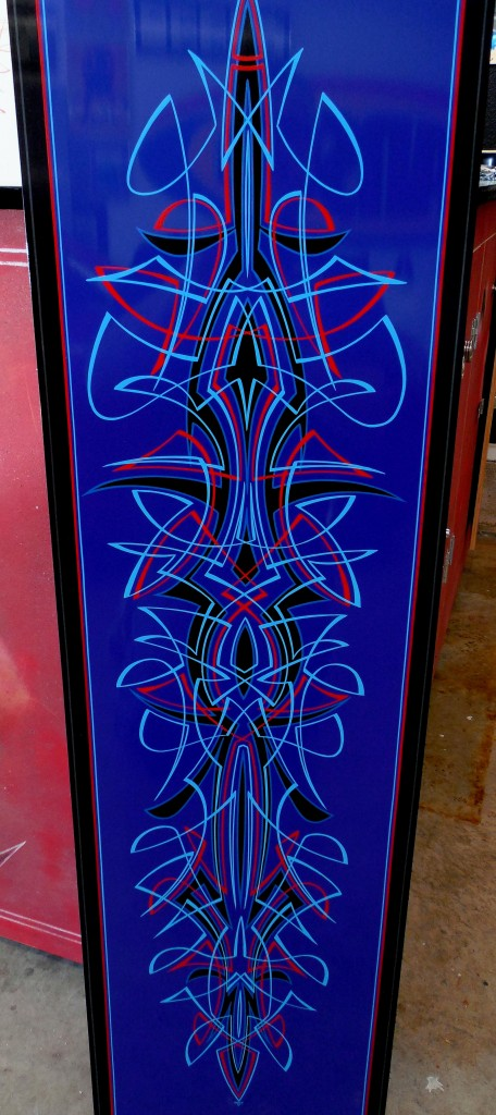 Artist Todd Hanson is a master of faux effects, pinstriping and airbrushing.