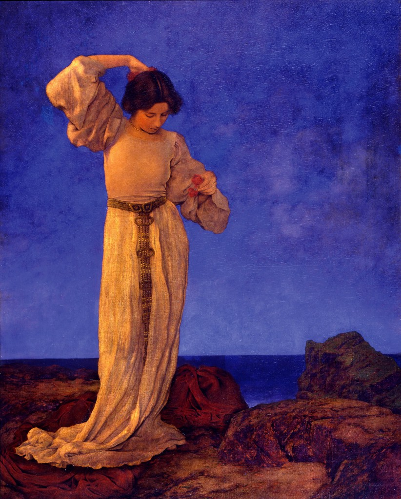 Griselda by Maxfield Parrish