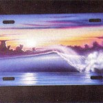 Blast from the Past: How to Airbrush License Plates by Cass Fuller.